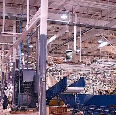 Conveyor system installation