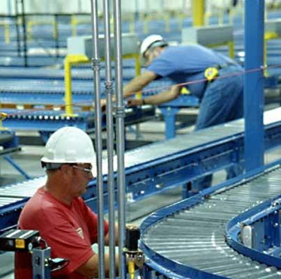 Storee Conveyor Installation process