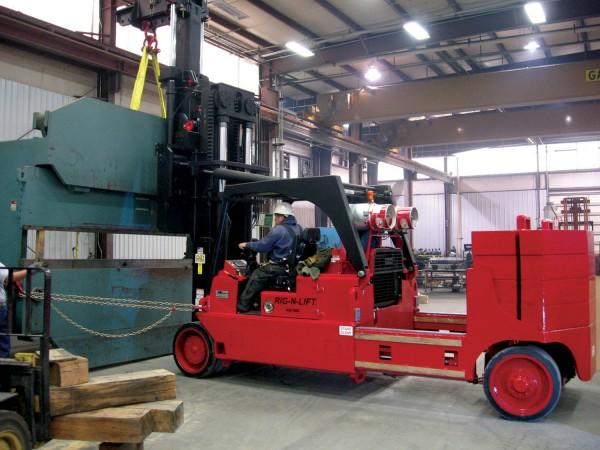 Rig-N-Lift equipment moving