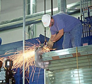 Industrial construction metal cutting by Storee Construction